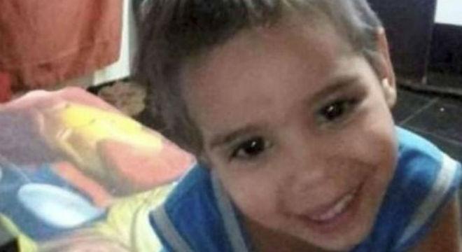 Luan, de três anos, foi atropelado por trem do Metrô de São Paulo no final de 2018