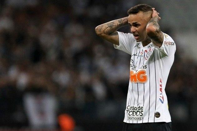 Luan - Clube: Corinthians - Posição: Meia - Idade: 28 anos - Jogos completados no Brasileirão 2021: 5 jogos - Situação no clube: Concorrência na posição e má fase