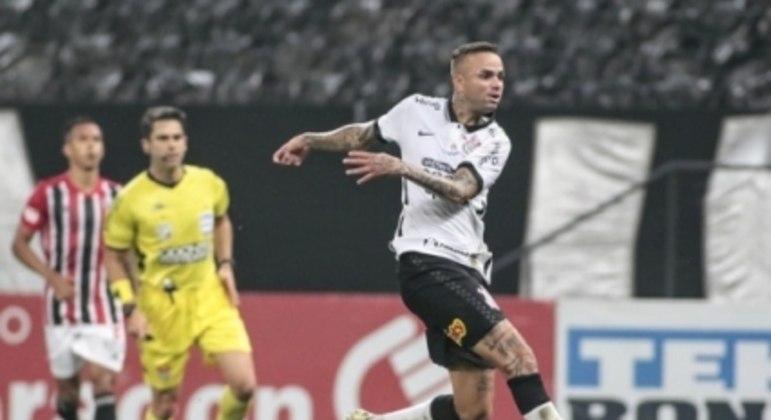 Luan - Corinthians x São Paulo