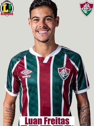 Luan Freitas - 6,0 - Fez um jogo correto e foi bem nas poucas vezes em que o Resende levou perigo.
