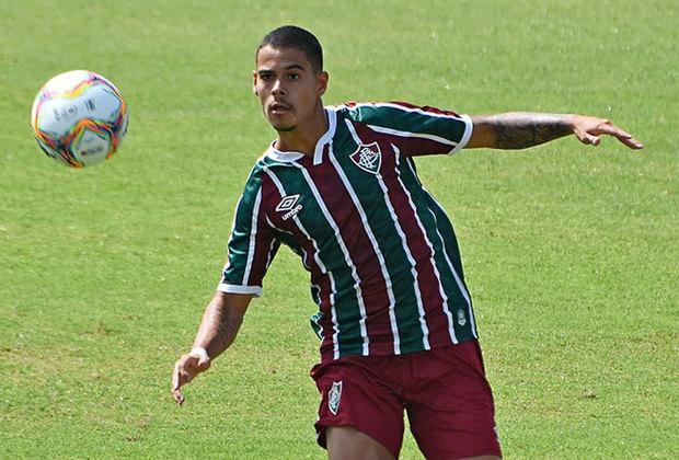 Luan Freitas - Fluminense - Zagueiro - 19 anos: Parte do time Sub-23 do Fluminense, o zagueiro tem passagens por seleções de base e chegou a ser relacionado para o profissional em 2020. É visto como um dos bons valores de Xerém