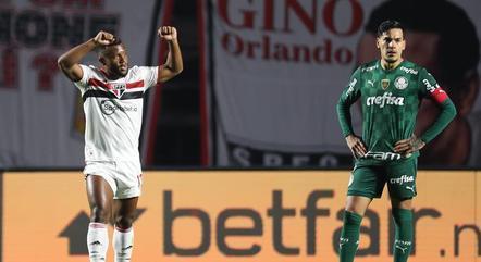 Luan voltou a marcar contra o Palmeiras