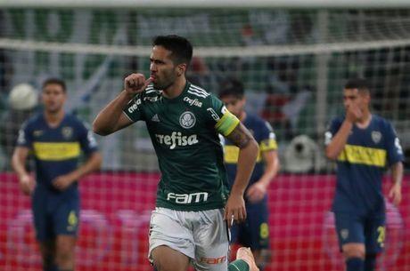Luan marcou e recolocou Palmeiras na partida