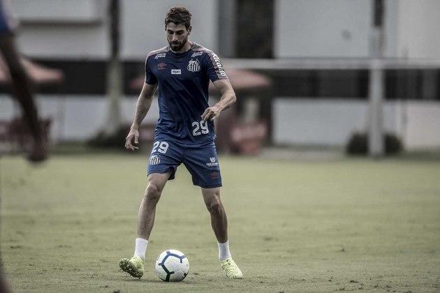 Luan Peres — Emprestado pelo Brugge, da Bélgica, o zagueiro tem contrato com o Santos até  31/12/2020. Seu valor de mercado é de 550 mil euros (cerca de 3 milhões de reais)