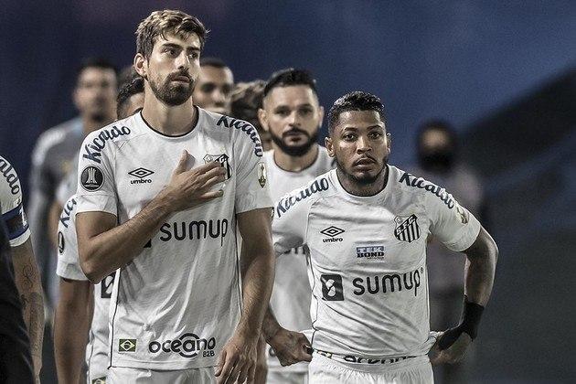 Luan Peres, Marinho, Santos