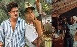 Luan Santana, que é hoje um dos principais nomes da música sertaneja no Brasil, decidiu dar um tempo da vida luxuosa na cidade grande para passar alguns dias com a família, emCoxim, município ao norte de Mato Grosso do Sul — estado natal do músico. O cantor viajou com alguns parentes para a tradicional