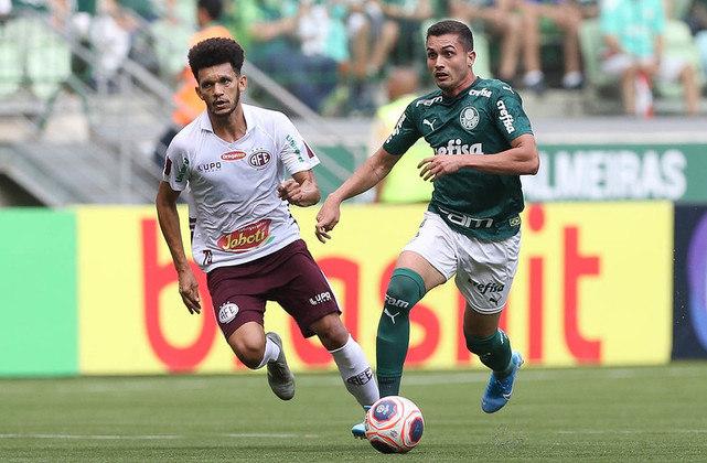Luan Silva - 1 jogo - 43 minutos - 0 gols - 0 assistências - 1 finalização - 2 desarmes