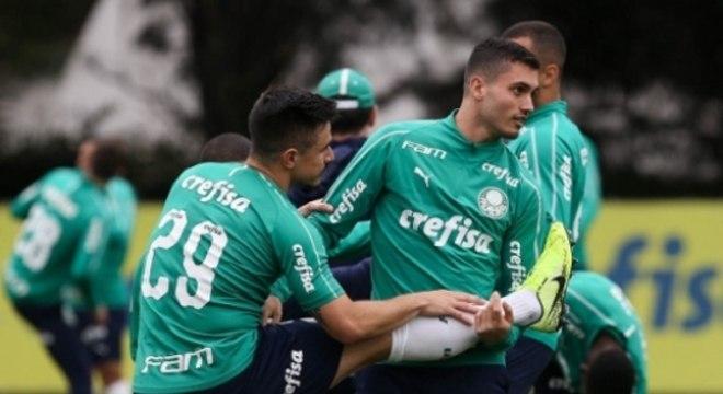 Luan Silva ainda não jogou no Palmeiras
