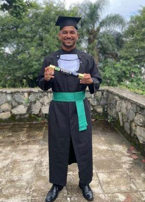 Luan se formou em Educação Física em 2020