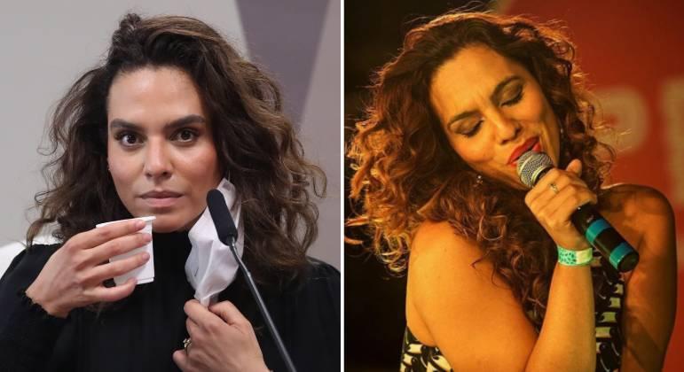 Médica infectologista Luana Araújo também é cantora