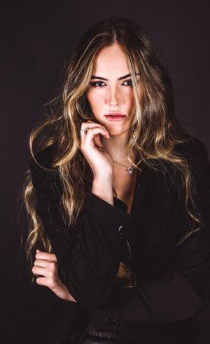 A modelo Luana Giovanelli