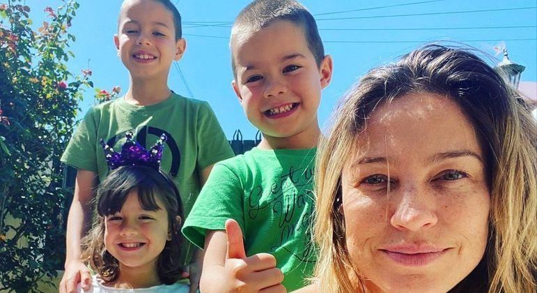 Luana Piovani quis se mudar para a Europa por conta dos filhos