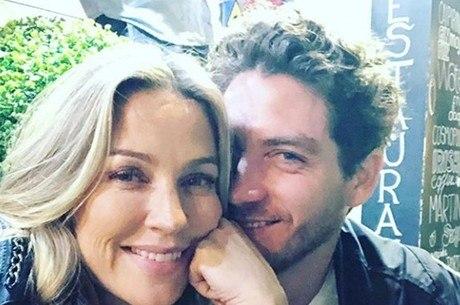 Luana Piovani e Igor Marchesi em foto de rede social