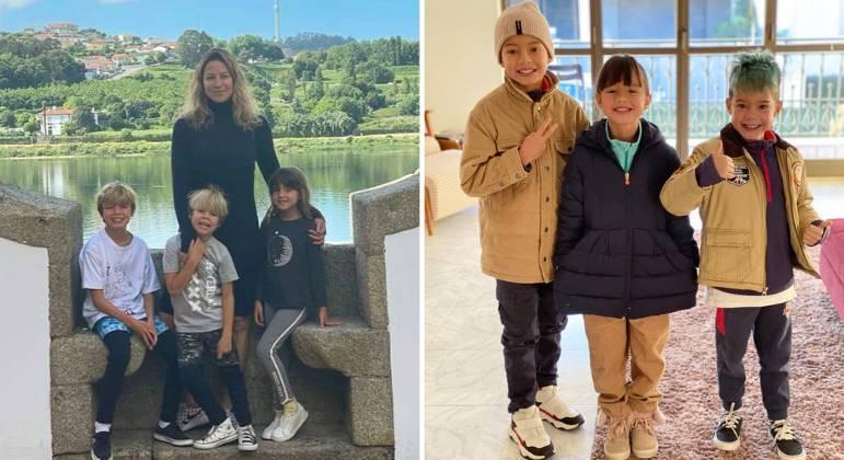 Luana é mãe de Dom, Liz e Bem