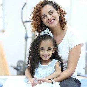 Luara com a Mãe, Luana Ribeiro