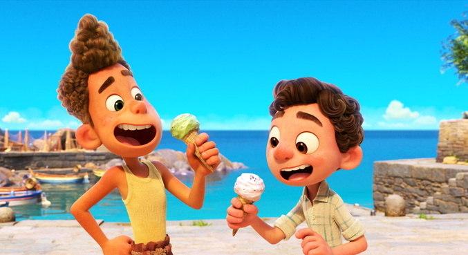 Animação 'Luca' vai ser lançada diretamente por streaming em junho