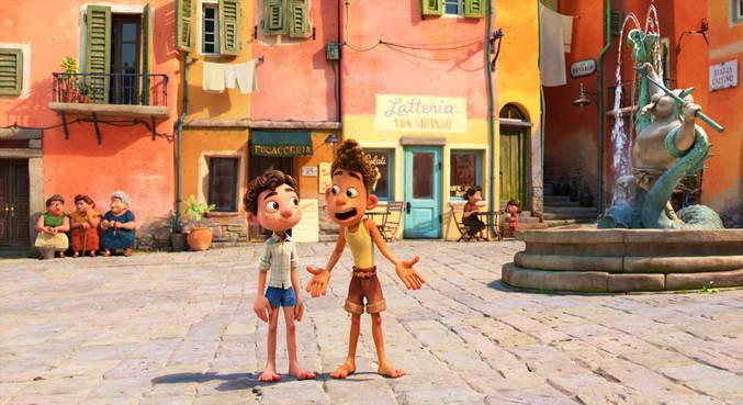 A região costeira da Itália serviu de base para as locações do filme