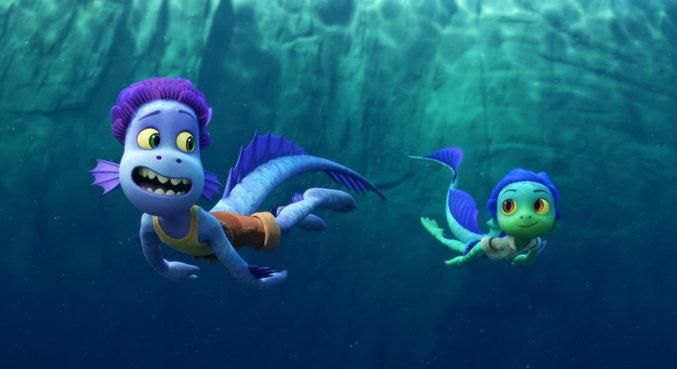 Em 'Luca', os protagonistas são criaturas marinhas que exploram o litoral da Itália