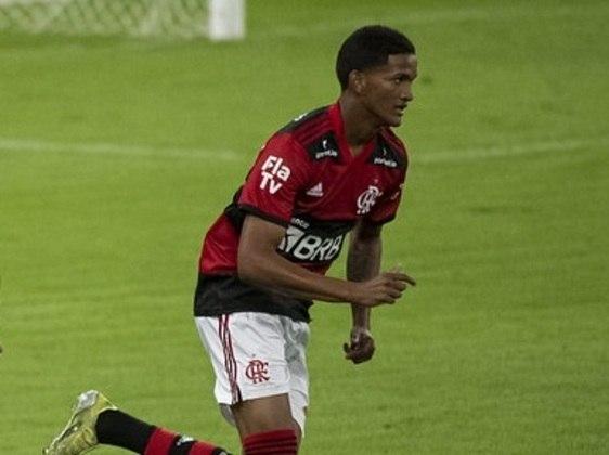 Lucas André (18 anos) - Volante - 1 jogo