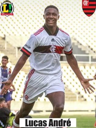 LUCAS ANDRÉ - 5,0 - Pouco acionado, não conseguiu mostrar seu futebol.
