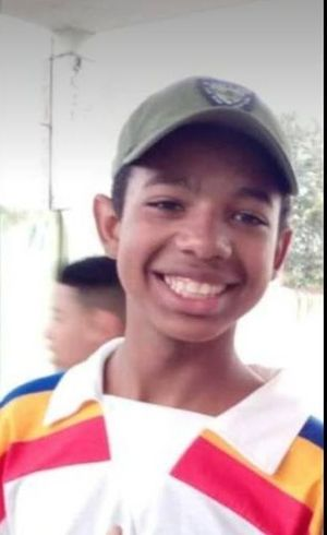Lucas, 14, está desaparecido