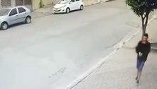 Câmera revela rosto de suspeito de atirar em neto de Luciano do Valle