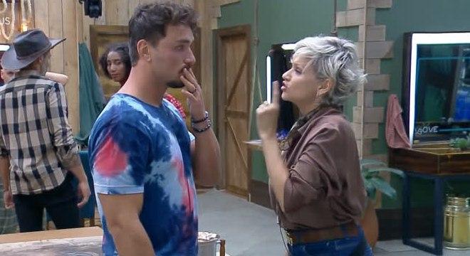 Lucas Viana e Andréa Nóbrega protagonizaram novas discussões