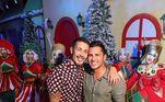 Lucas Guimarães, marido de Carlinhos, agradeceu os amigos pela presença e desejou um Feliz Natal para todos