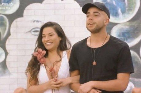 Raissa e Lucas viveram romance em 'A Fazenda'