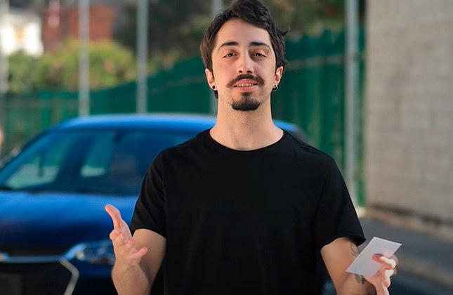 """Lucas Inutilismo - Dono do canal """"Inutilismo"""" no Youtube, que conta com 4,63 milhões de inscritos, ele é corinthiano e frequentemente se manifesta no Twitter sobre o Timão."""