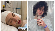 Lucas Jagger, filho de Luciana Gimenez, passa por cirurgia em SP