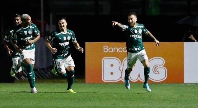 Lucas Lima abriu o caminho para a vitória do Palmeiras sobre o Vasco