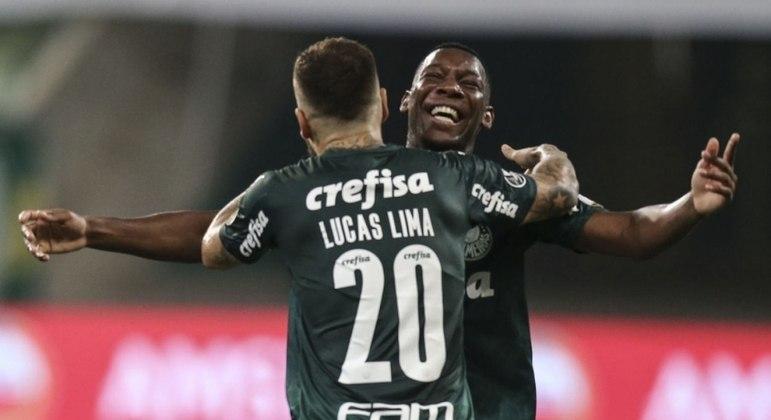 Lucas Lima e Patrick de Paula voltaram a treinar com o elenco e podem jogar pelo Palmeiras