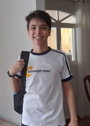 Lucas já participou de 12 competições