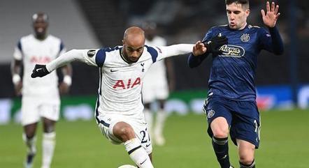 Lucas quer um título pelo Tottenham