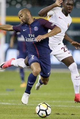 Lucas Moura custou 40 milhões de euros (R$ 264 milhões, na cotação atual).