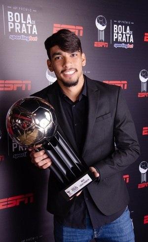 Lucas Paquetá, do Flamengo: melhor meia na Bola de Prata 2018