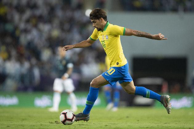 LUCAS PAQUETÁ / BRASIL - Esteve no time que disputou o pré-olímpico. Outro que terá 24 anos e poderá estar no time no ano que vem.