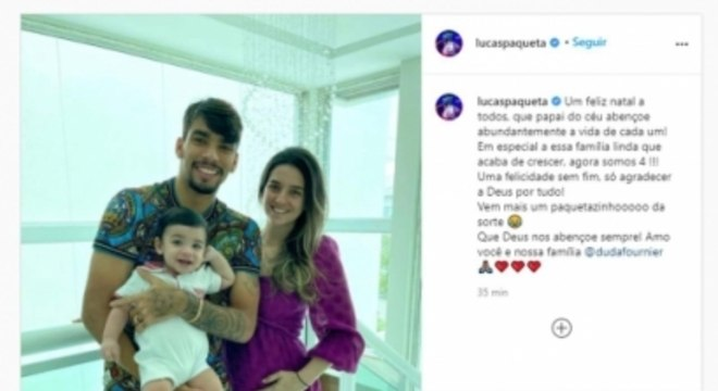Lucas Paquetá - Instagram