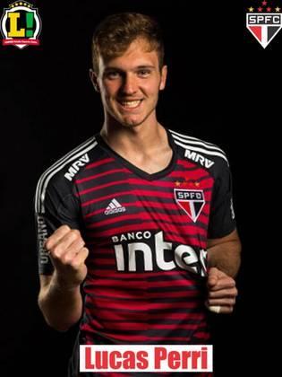 Lucas Perri - 6,0 - Foi pouco exigido pelo ataque do Santos, que só finalizou uma vez na direção do gol, mas sem chances para o goleiro.