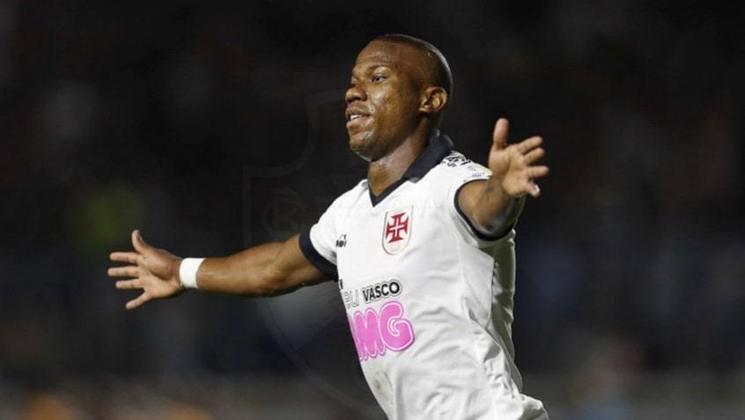 Lucas Ribamar vive relação de altos e baixos com a torcida do Vasco. Eventualmente joga pelos lados do ataque, mas é centroavante.