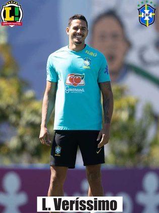 Lucas Veríssimo - 5,0 - Não se destacou na partida, mas atuou de forma consistente.