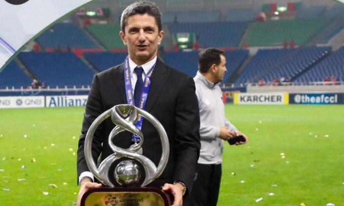 Lucescu era adorado pelos jogadores. Foi campeão em 2019. Último título era de 1985