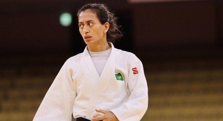 Lucia Araujo, bronze no Judô