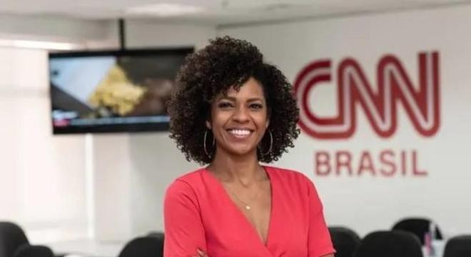 Luciana Barreto é uma das âncoras da CNN