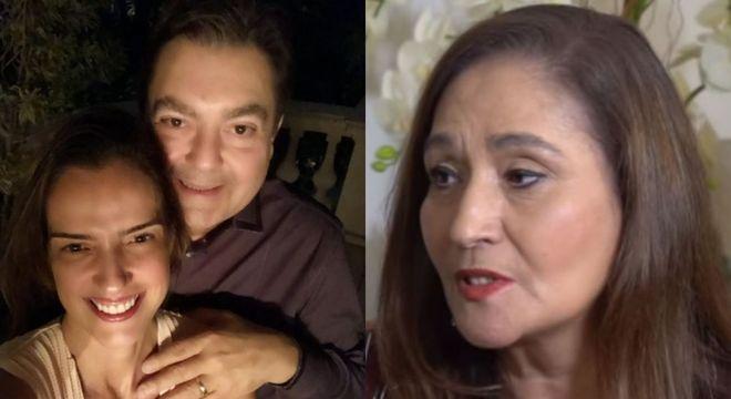A mulher de Faustão, Luciana rebateu Sônia Abrão nas redes sociais