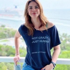 Luciana Gimenez em férias