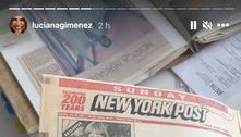 Luciana Gimenez relembra manchetes sobre gravidez de Jagger
