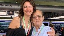 De luto, Luciana Gimenez publica carta escrita pelo pai