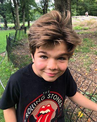 Meio-irmão de Lucas Jagger, Lorenzo também é fã dos Rolling Stones
